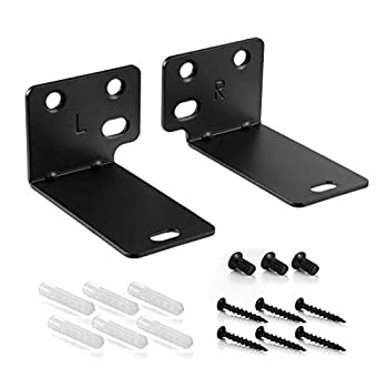 Black Mounting Wall Bracket Compatible with Bose WB-300 Sound Touch 300 Soundbar Soundbar 500 Soundbar 700 Speaker - 180 Days Warranty