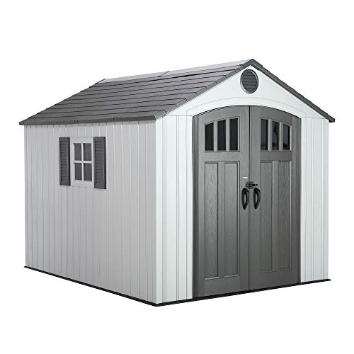 Lifetime 60202 8 x 10 Ft. Outdoor Storage Shed,...