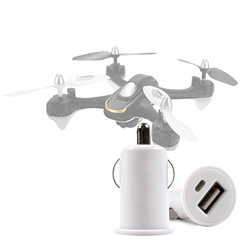 DURAGADGET Cargador De Mechero del Coche con Puerto USB para Dron Eachine E33C / JXD 523W RC Drone WiFi FPV Pliable Quadcopter/Kingtoys 2.4G 4CH Drone RC Quadcopter
