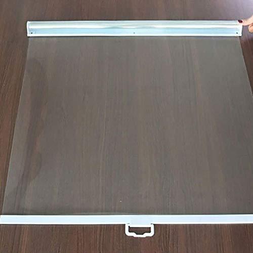 LLFF Transparente Transparente Rollläden Aus Kunststoff mit Griff - für Gewerbliche Vitrine/Gefriertruhe - 60/65/70/75/80/85/90/95/100/110/120cm Breit (Size : 110x150cm)