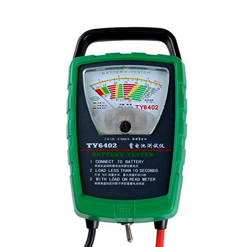 Great Deal! QWERTOUR 500A 2V 6V 12V Automotive/Car Battery Tester/Alternator/Cranking Check Easy to ...