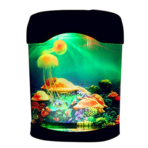 Coomir 1292/5000 Aquarium Nachtlicht Lampe LED Licht Künstliche Seajelly Tank Schwimmen Stimmung Lampe für Home Desk Decor