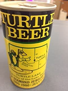 Turtle Lake Centennial Collectable Beer Can