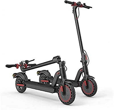 Rainberg Electric Scooter with Dual Braking System and Shock Absorber | Heavy duty tyres | Scooter Mobile App for Performance Monitoring