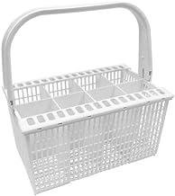 Spares2go Slimline cesta de cubiertos de tapa y asa para Zanussi Lavavajillas
