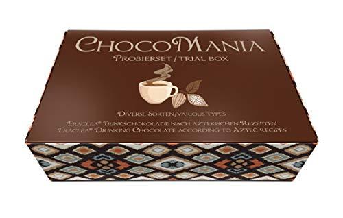 ChocoMania Probierset: Eraclea Trinkschokolade / Heiße Schokolade – 7 versch. Sorten à 32 g, insg. 224 g