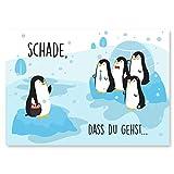 Abschiedskarte Kollegen (Groß A4 XXL Klappkarte) - Glückwunschkarte als Geschenk zur Rente oder...