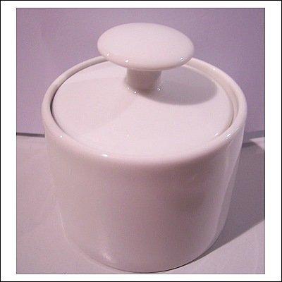 Porzellan-Serie BIANCO Zuckerdose weiß Artikel 078053