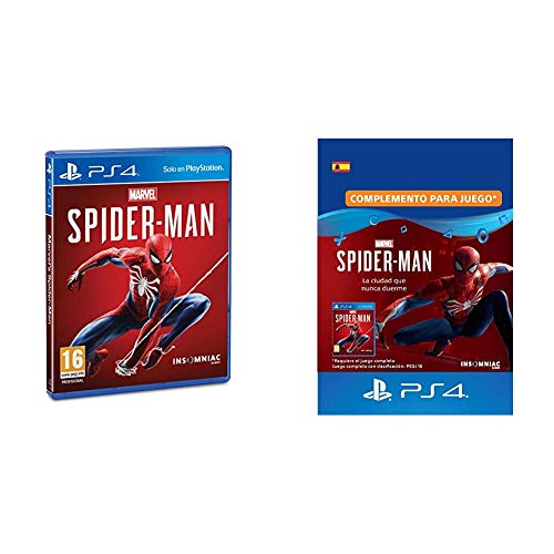 Marvel's Spider-Man (PS4) + Marvel's Spider-Man: The City that Never Sleeps (DLC)