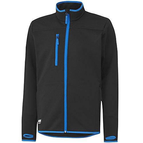 Helly Hansen Workwear Fleece Jacke Seattle Power Stretch FZ 75120 990 L, schwarz, 34-075120-990-L