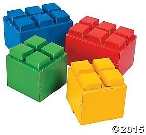 la mejor oferta de tienda online Paper Paper Paper Color Brick Party Centerpieces by NHC  venta de ofertas