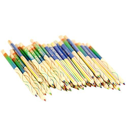 Dokumentenechter Stift,12 stücke 0,10 stücke Zeichnung Malerei Bleistift 4 in 1 Regenbogen Farbstift Set für Kunst Färbung Skizzieren DIY Scrapbook Craft Projekte