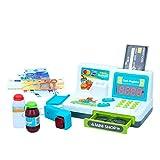 ColorBaby - Caja registradora interactiva con luz y sonido My Market (49160)