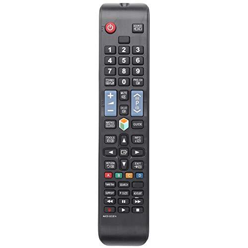 FOLOSAFENAR Reemplazo de Control Remoto de Larga Distancia portátil de Alta sensibilidad Compatible con PN51E8000 PN51E8000GF, para UN40ES6100F UN40ES6100FXZA