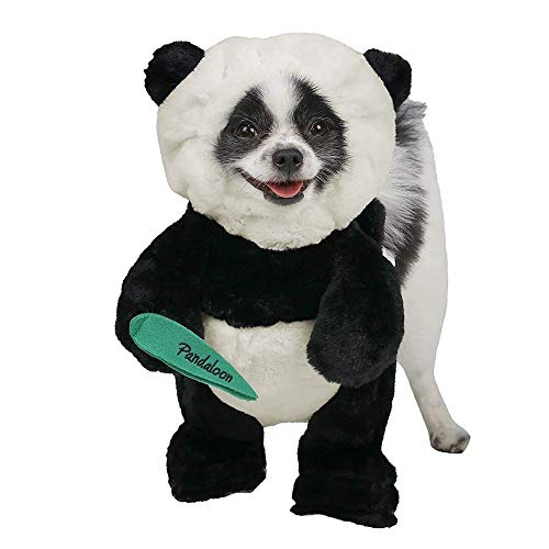 Pandaloon Panda Puppy Dog and Pet Costume Set - AS SEEN ON Shark Tank - Walking Teddy Bear with Arms...