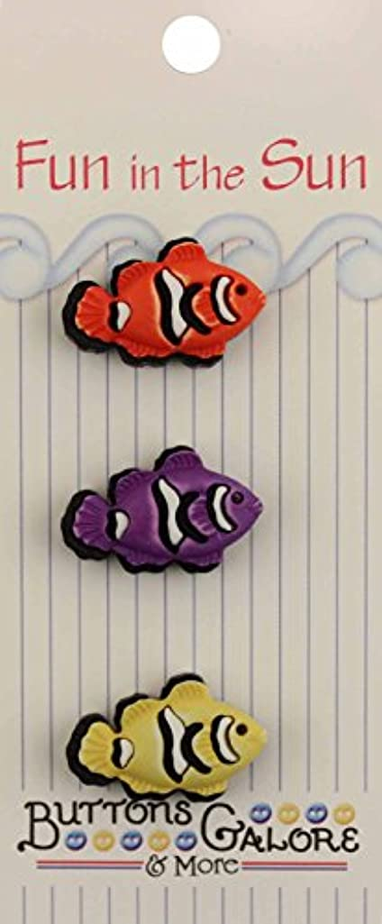 Buttons Galore Clown Fish Buttons