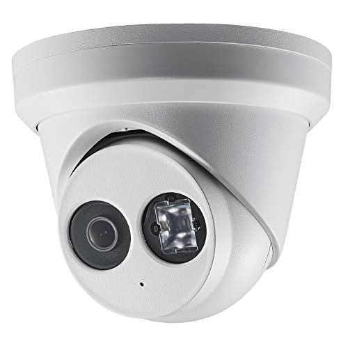 4MP PoE Security Outdoor IP Camera OEM DS-2CD2343G0-IU (HS-ET04G0-IA) Ultra HD Dome Turret IP Camera EXIR 98feet Night Vision,Bulit in Mic,Smart H.265+Video Compression,IP66 Waterproof
