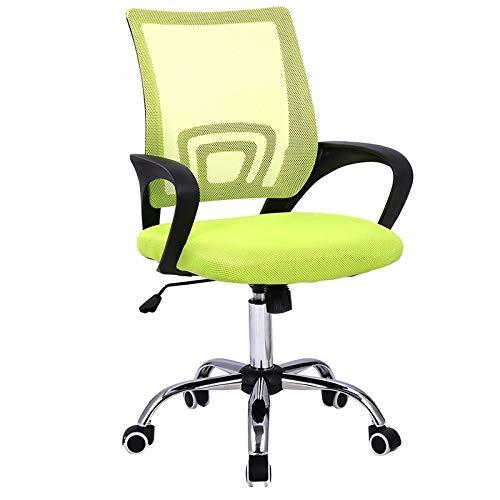 HEEGNPD Moderner Netz-Bürostuhl mit halber Rückenlehne Büromöbel Drehstühle,2