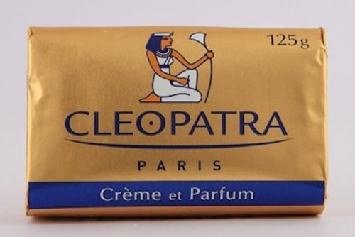 Cleopatra Beauty Cream Soap 3x125g (3x4.4oz) by Cleopatra Paris