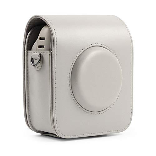 Housse Coque de Protection en Cuir Synthétique pour Fujifilm Instax Square SQ20 - Couleur Unie