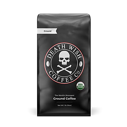 Death Wish Ground Coffee, The World's Strongest Coffee