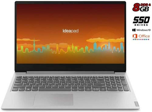 Lenovo Ideapad - Ordenador portátil 15.6' (AMD A4-9125, 8GB de RAM, 256 GB SSD, AMD Radeon Graphics, Windows 10 Professional) Gris Teclado QWERTY italiano