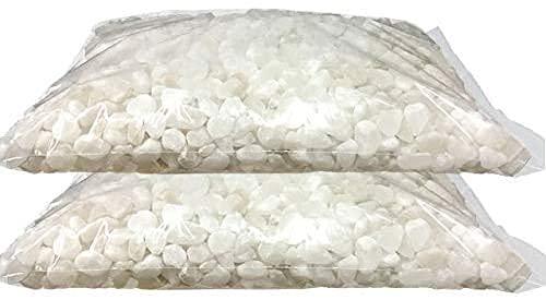 お墓の除草塩10kg大袋入り×2袋合計20kg 粒M・Lサイズ(10〜20mm) 粒正規サイズと大きめサイズの混合