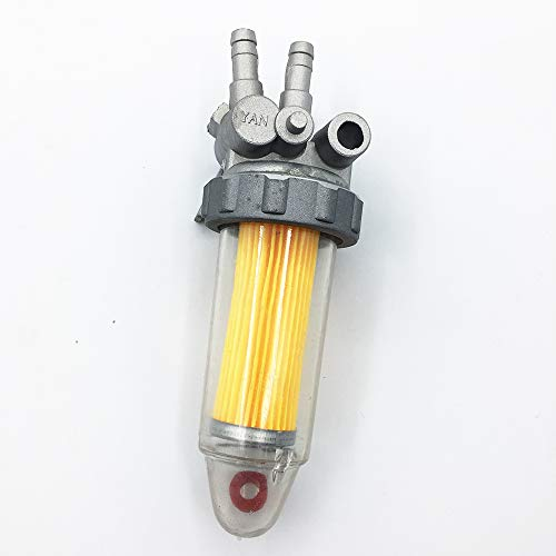 DSparts Replacement Fuel Filter Shutoff Valve Assembly for ETQ DuroPower Kipor KAMA Diesel Generator