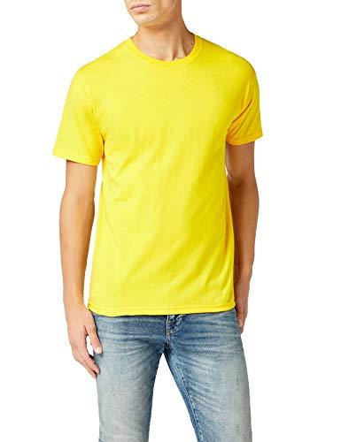 Camiseta manga corta para Hombre, Amarillo
