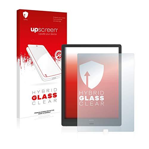 upscreen Hybrid Glass Panzerglas Schutzfolie kompatibel mit Onyx Boox Max Lumi 9H...