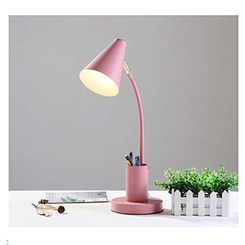LED- Lámpara Escritorio LED de luz de la lectura del libro de la luz 3 niveles de brillo con la pluma sostenedor de la lectura de la lámpara, perfecta for leer en la cama Lámpara de Lectura