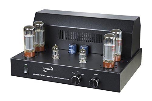 Dynavox VR-70 E II Phono-buisversterker zwart