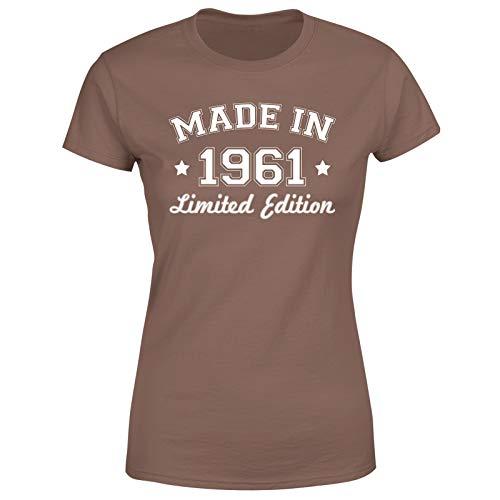 Camiseta de regalo de 60 cumpleaños hecha en 1961 edición limitada para mujer