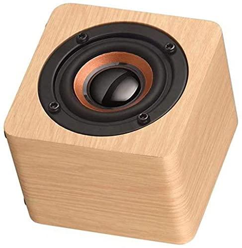 Mini altavoz Bluetooth inalámbrico portátil de madera Altavoz Bluetooth portátil B
