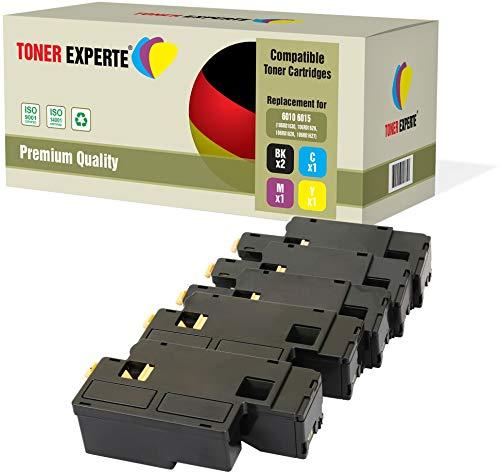 Kit 5 TONER EXPERTE® 106R01630 106R01627 106R01628 106R01629 Toner compatibili per Xerox Phaser 6000, 6010, 6010V, 6010V N, 6010N, WorkCentre 6015, 6015V, 6015V B, 6015V N, 6015V NI, 6015MFP