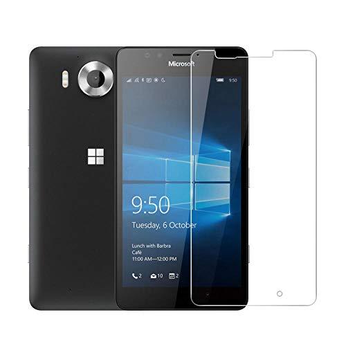 AGSXHM 3Pcs/Set Protezione dello Schermo Vetro Temperato per Microsoft 535 550 650 630 635 530 Pellicola Salvaschermo per Nokia 640 950 XL 640Xl 950Xl Pellicola Anteriore 640