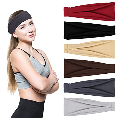 olyee workout headbands 6 pack