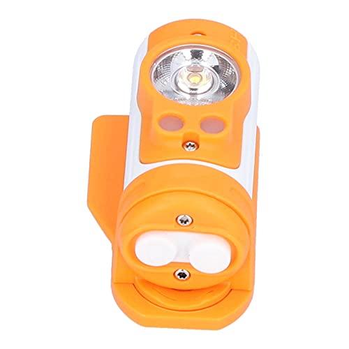 Linterna frontal LED, faro H3 con dos ejes giratorios Linterna frontal recargable por USB para adultos y niños