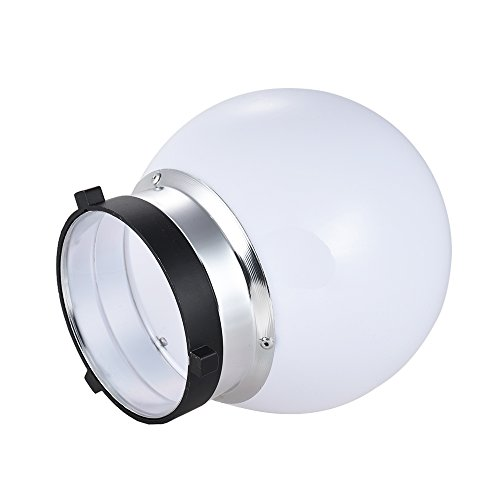 """7"""" Standard Reflector Diffuser Lamp Shade with 60 degree Honeycomb Grid for Bowens Mount Studio Strobe Flash Light"""