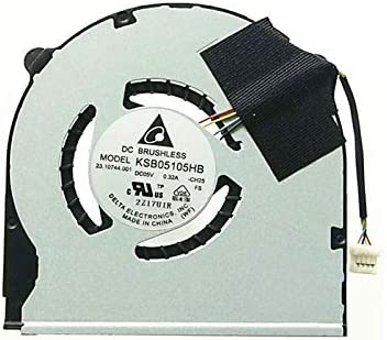 FCQLR Ventilador de la CPU del Ordenador portátil para Sony VAIO SVT14 SVT15 SVT151 KSB05105HB -CH25 CPU enfriamiento Ventilador