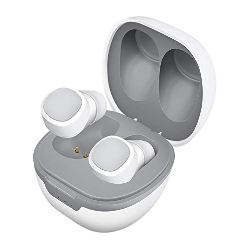 Wireless Earbuds, Mxland Earbuds 5.0 Bluetooth Earbuds with Charging Case Noise Cancelling Premium Sound Earbuds Wireless for Sport/Travel/Gym/Work (White)