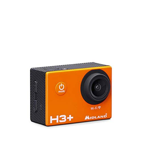 Galiano Cámara de Video Midland H3 + Wi-Fi Action Sports Full HD, Foto de 16MP, batería incluida, estabilizador de Imagen,