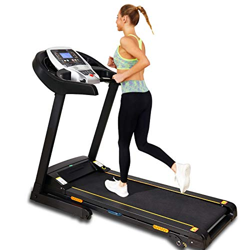 Caroma Electric Treadmill Folding for Home with Incline App Bluetooth Control Treadmill with 220 Lbs Weight Capacity Workout Equipment Home Cardio Machine for Running Jogging Walking with Speaker