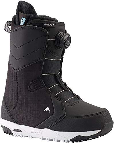 Burton Limelight BOA Snowboard Boots Womens Sz 10 Black