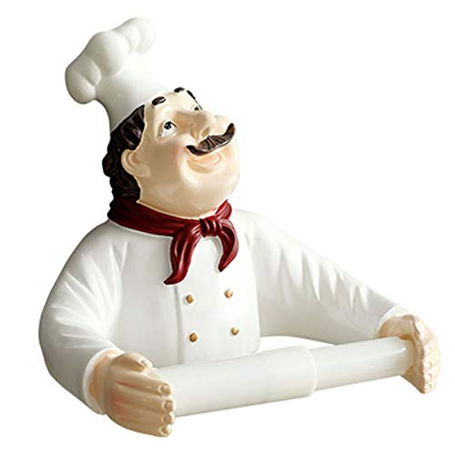 Heritan Soporte de papel para rollo de cocina, soporte para rollo de papel higiénico, soporte para rollo de papel de cocina