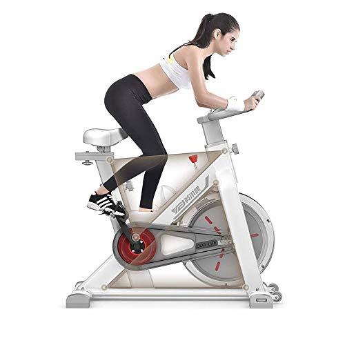 UIZSDIUZ Ciclismo Indoor Bicicletas Bicicleta estacionaria Ejercicio, Ajustable Resistencia y Monitor LCD for el hogar Ejercicio de Entrenamiento Cardiovascular