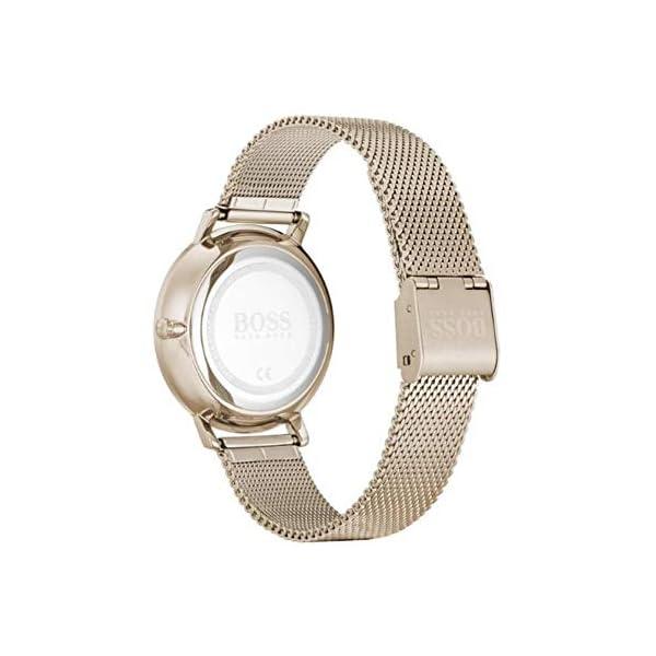 Hugo BOSS Reloj para Mujer de Cuarzo con Correa en Acero Inoxidable 1502519