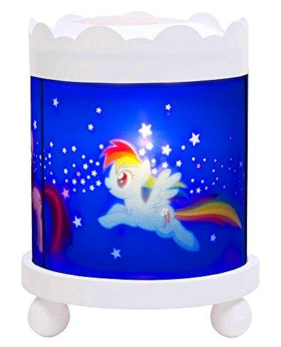 Trousselier–My Little Pony–Nachtlicht–Magische Laterne Karussell–Projektor–Weiß