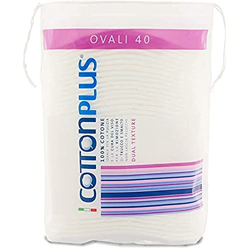 Cotton Plus Lot de 40 disques à démaquiller