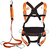 A Gran Altura Anti-caída del cinturón de Seguridad Set Cinturón de posicionamiento de absorción de choques Cuerda Confort cinturón de Seguridad